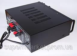 Усилитель звука UKC AMP AV-326BT 2*120W c Karaoke и Bluetooth, фото 2
