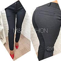 Женские брюки из коттона в расцветках w-41264