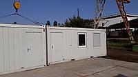 Санитарный контейнер Containex с кухней и туалетом в аренду