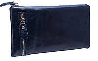 Кожаный женский кошелек 20208 green, фото 1