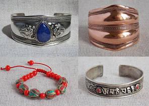 Тибетские, непальские, восточные браслеты