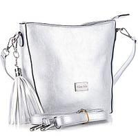 Женская сумка клатч W707   silver.Купить сумки клатчи оптом и в розницу дёшево в Украине.