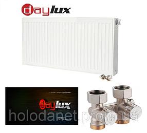 Стальной радиатор Daylux 22тип 500х1000(Нижнее подключение)