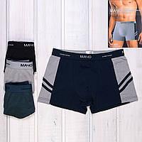 Мужские трусы боксеры хлопок Мачо Y5711 | 6 шт.