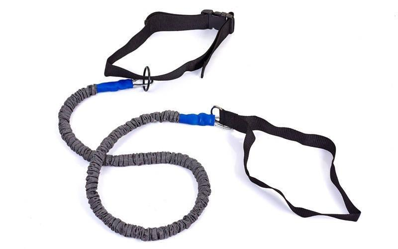 Поводок-амортизатор для силовых тренировок FB-3018 (PL, резина, l-1,5м)Z