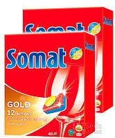 Таблетки для посудомоечной машины Somat Голд, 760 г