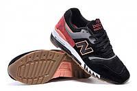 Кроссовки New Balance 997 Black-Pink 40-44 р.