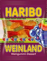 Желейные конфеты Haribo Wienland, 200 гр