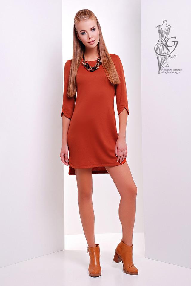 Фото Асимметричного женского платья Краля-4