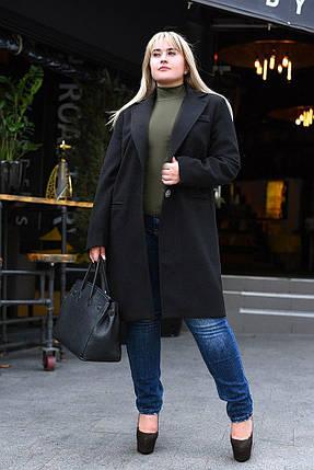 Модное женское пальто на запах, фото 2
