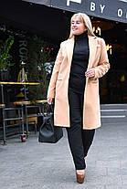 Модное женское пальто на запах, фото 3