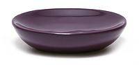 Мыльница керамическая 12*9*3 см, баклажан