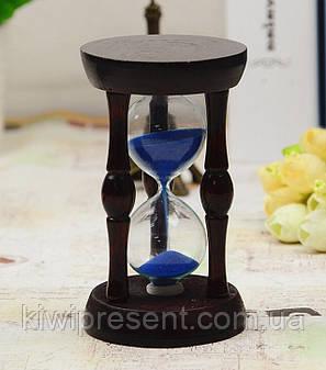 Часы песочные в дереве сувенирные, фото 2