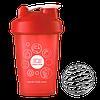 Шейкер Coral Club 400 мл красный (Shaker Coral Club 400 ml red)