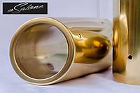 Насадка на глушитель для Passat B6,B7,CC Gold Edition.