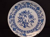 "Столовый сервиз ""Синий Лук"" Czehoslovakia Bohemia Inglazed Henriette 29029 (75) Винтаж.Раритет."