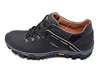 Мужские кроссовки нат.кожа Clubshoes Agrimotor Style MT Black размеры: 41 42 43 45
