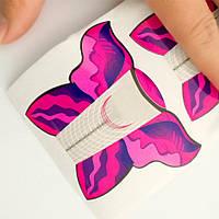 Форма для наращивания ногтей широкая (500 шт)