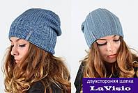 Двухстороняя шапка LaVisio (196)., фото 1