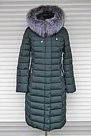 Зима 2018, красивое пальто Lusskiri на холлофайбере, L, XL, XXL, 3XL, 4XL