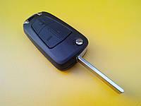 Заготовка OPEL Astra, Omega, Vectra выкидной ключ 3 кнопки 134#