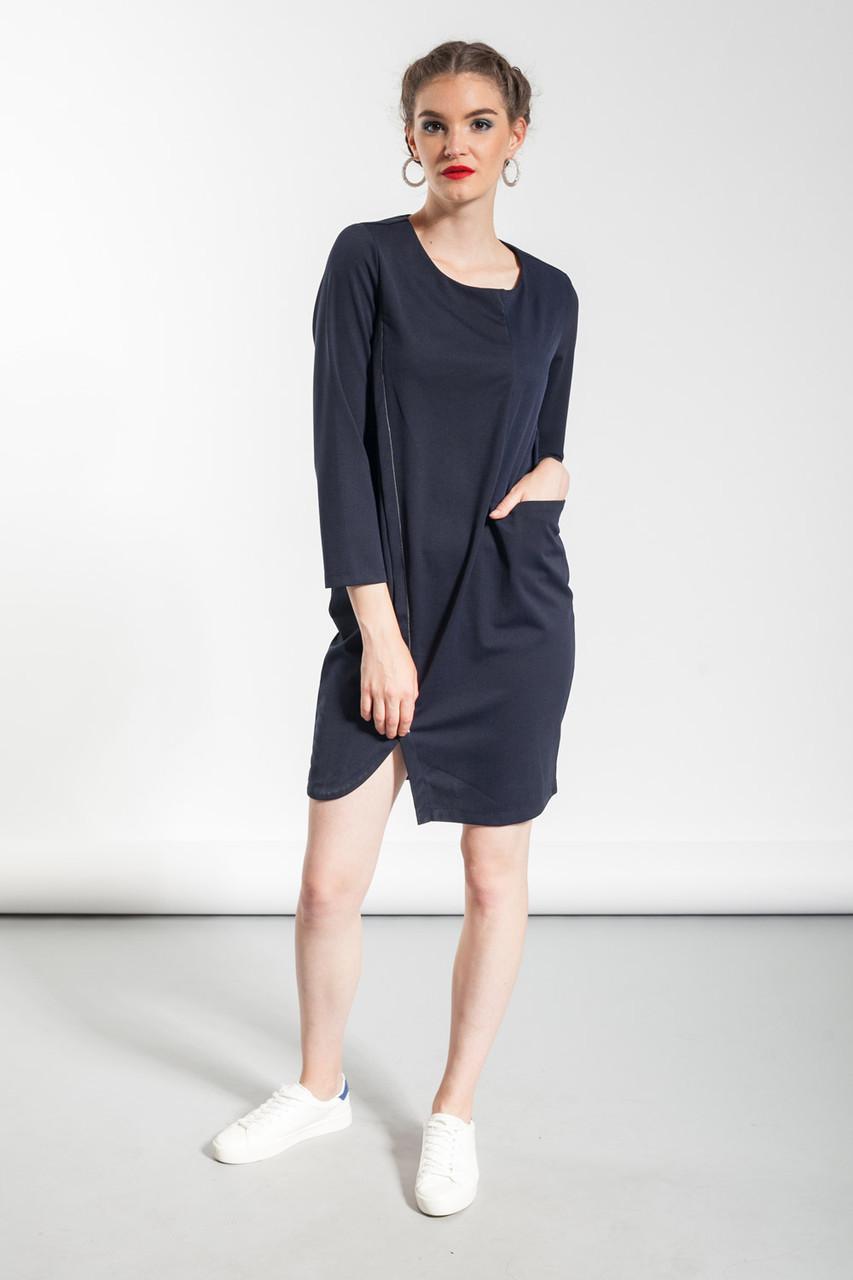 Платье женское Glo-Story синего цвета