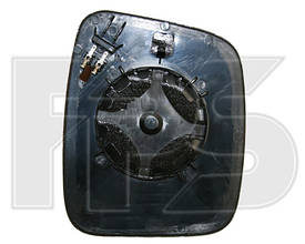 Вкладыш бокового зеркала Fiat Fiorino Qubo 08- левый (FPS)