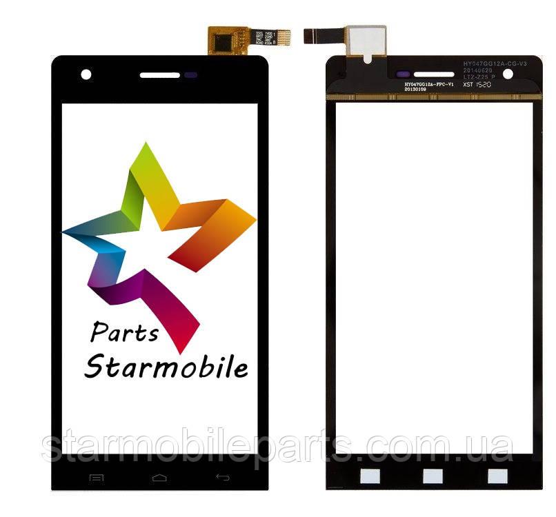 9c41af2447e06 Сенсорный экран для мобильного телефона S-TELL M610 , черный ...
