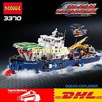 Детский конструктор Океанский корабль-исследователей 3370