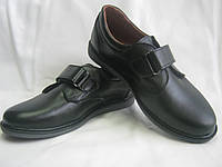 Школьные кожаные туфли для мальчика