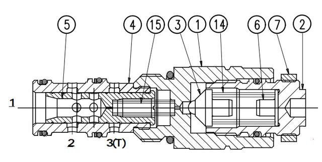Редукційний клапан UZCS6x
