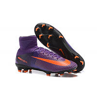 Футбольные мужские бутсы Nike Mercurial Superfly V FG Violet
