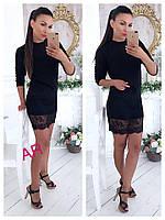 Женское стильное приталенное платье (4 цвета), фото 1