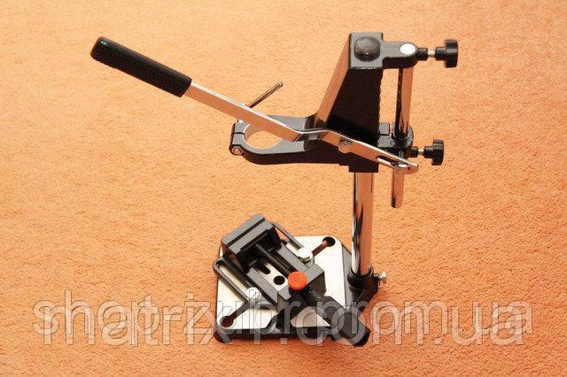 Стойка для крепления дрели с тисками// SPARTA