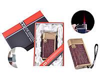 Зажигалка в подарочной упаковке JOE с турбо пламенем Бордо