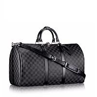 Cумка дорожная Louis Vuitton Keepal 45 Канва Damier GS1200