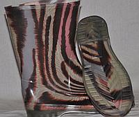 Женские резиновые сапоги цветные