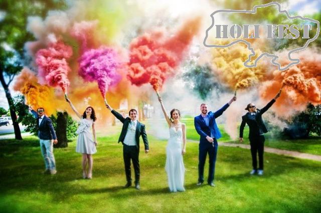 Фотосесія з кольоровим димом!