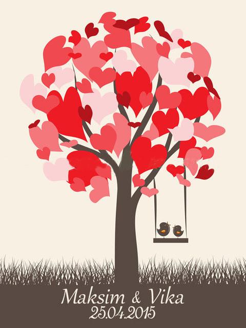 Дерево пожеланий на новоселье DP23