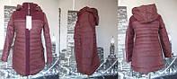 Куртка женская(осень-зима). Размеры-L, XL, 2XL. В ростовке 6шт. Цвет-бордовый