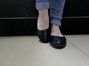 Классические кожаные балетки на низком ходу Bells 5090., фото 3