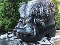 Ботинки женские, натуральная кожа, фото 1