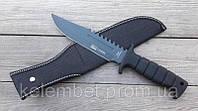 Нож Columbia армейский. Заточенный ножик для охоты и рыбалки. Удобный нож для выживания. Цельный металл.