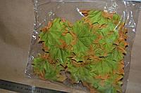 Тканевый декор Кленовый лист 8 см