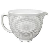 Керамическая чаша для миксера 4,8л рельефная Kitchenaid