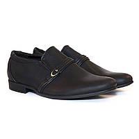 """Туфли """"Стильные"""" цвет чёрный"""