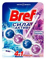Средство для туалета Bref Сила лиловой воды - Лаванда НОВИНКА !!!, 50 г