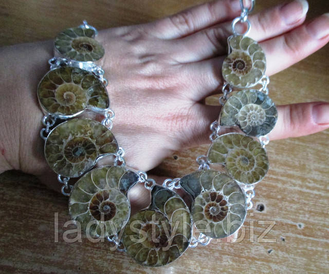 купить натуральный аммонит аметист цитрин янтарь украшения