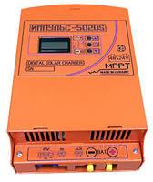 MPPT Контроллер заряда солнечной батареи Импульс 60А-48В-AUX 5020S