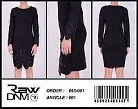 Платье Женское Короткое Черное Бренд RAW (M, L)